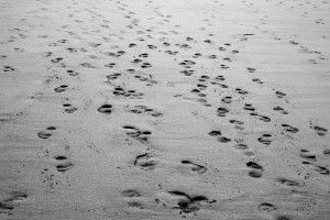 barfuss im sand