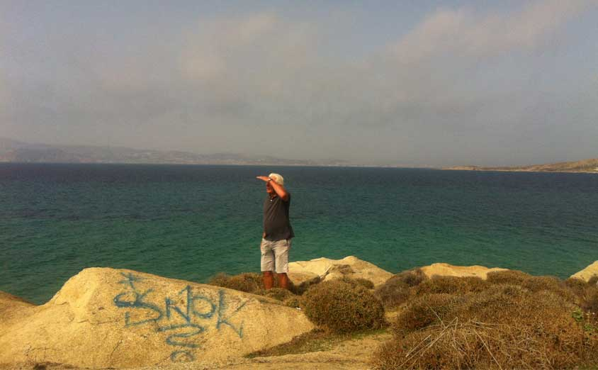 Barfuss auf Naxos