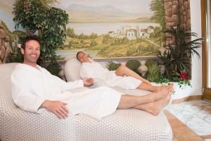 Hotel Laerchenhof Wellness nach der barfusswanderung